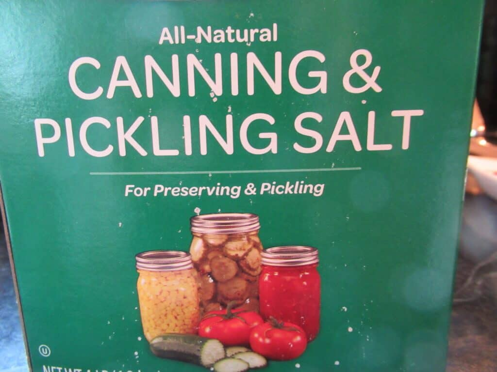 Canning and pickling salt
