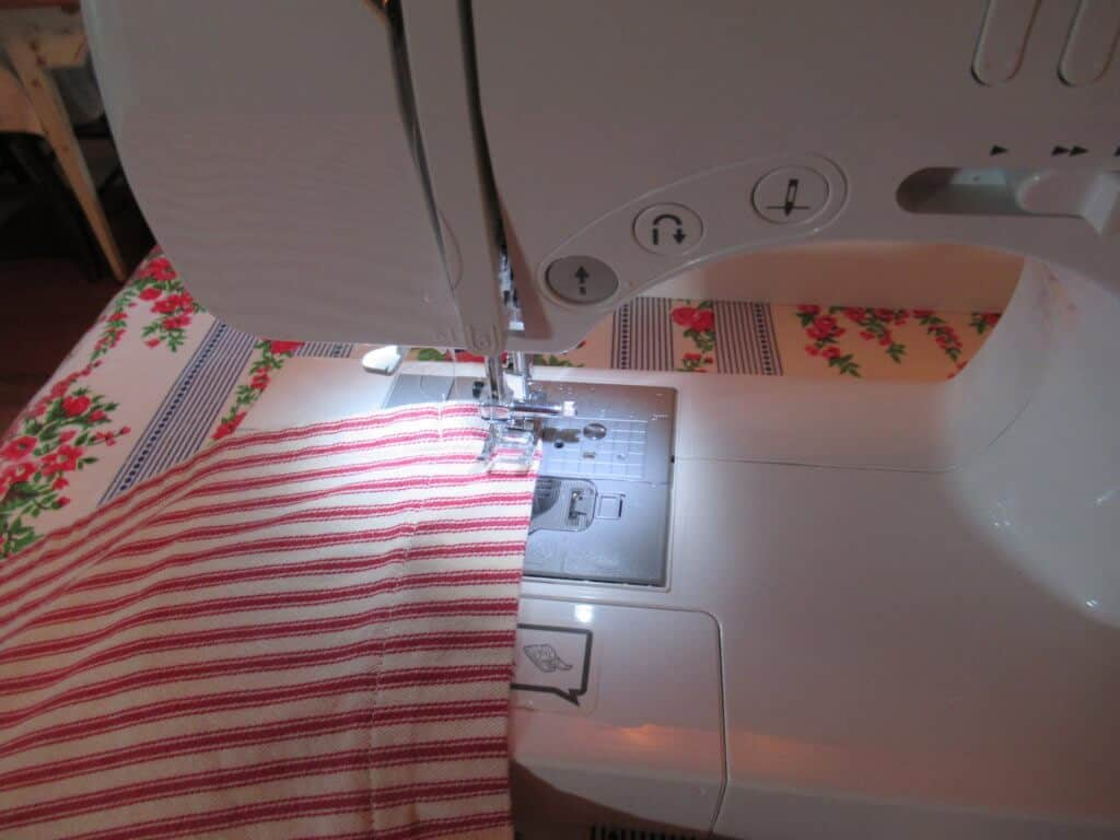 Stitching gathers