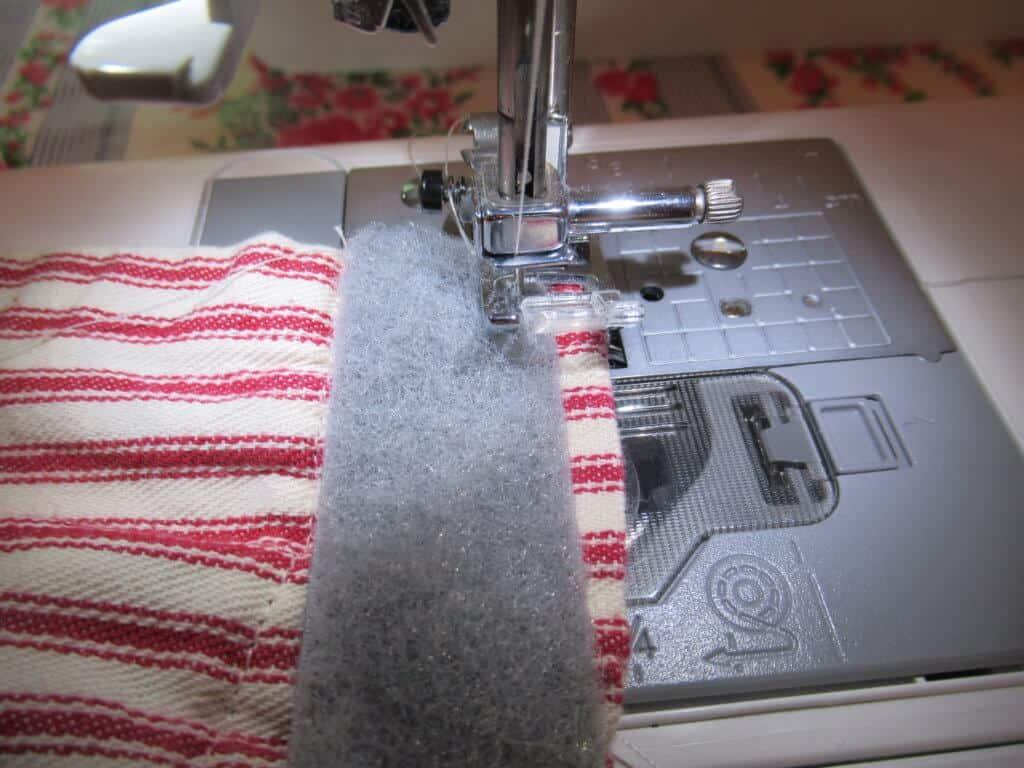 Sewing hook-and-loop