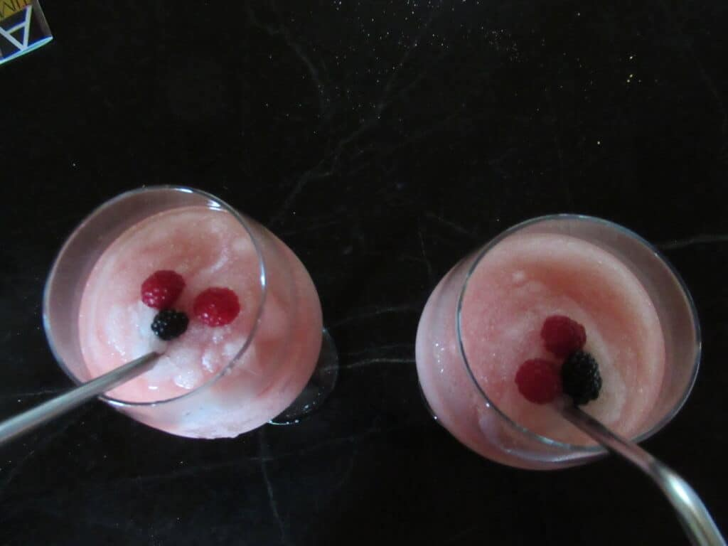Frozay cocktails