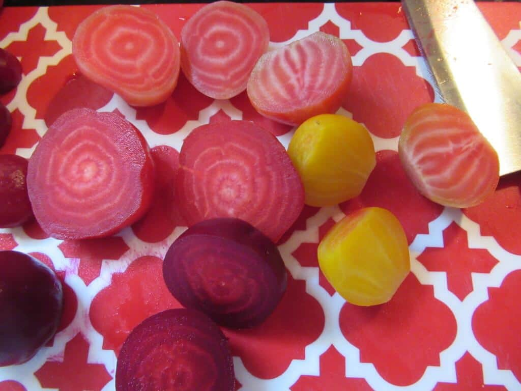 Beets, chopped