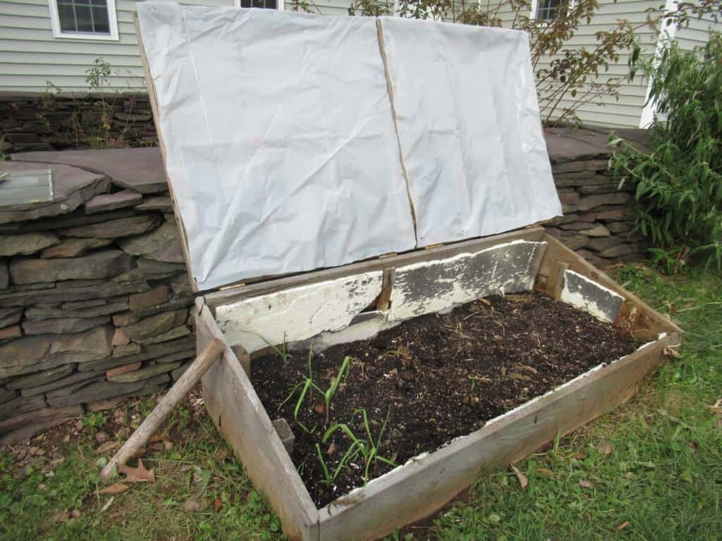 Cold frame repaired