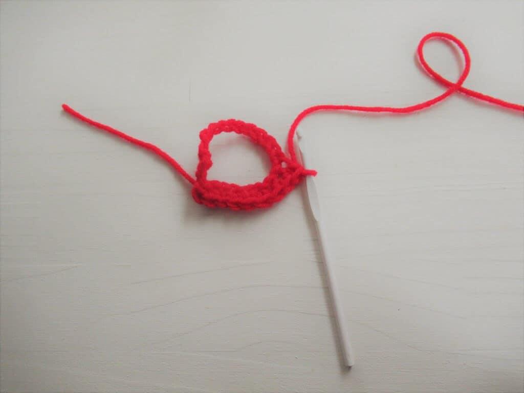 Crochet first row
