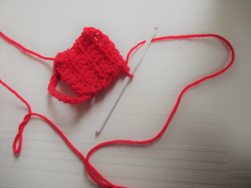 Crochet a few rows