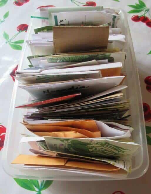 Garden Seed Storage