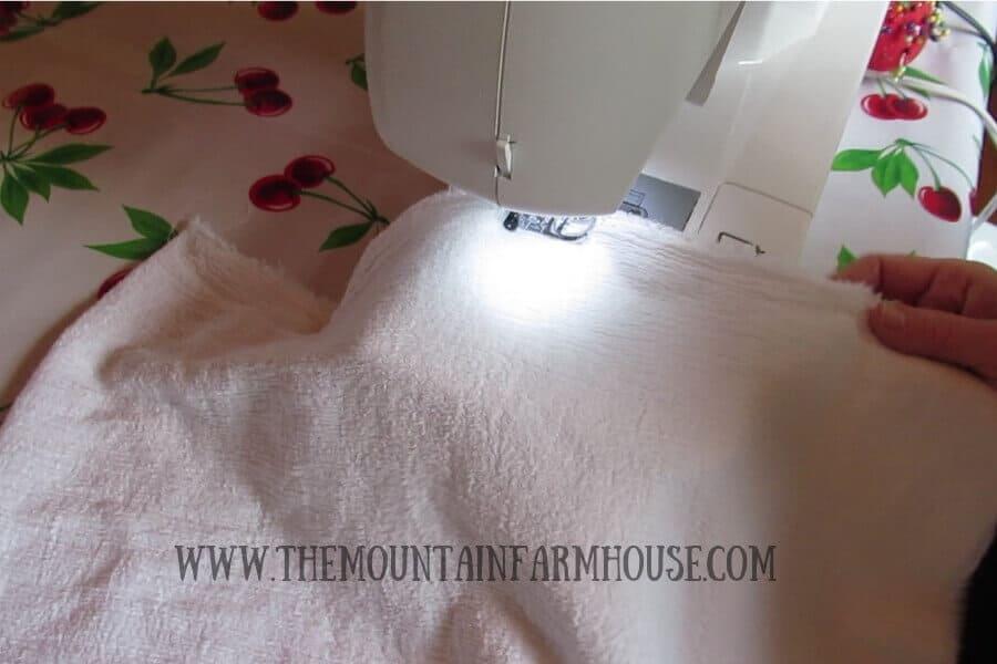 DIY Produce Bags Tutorial Sewing