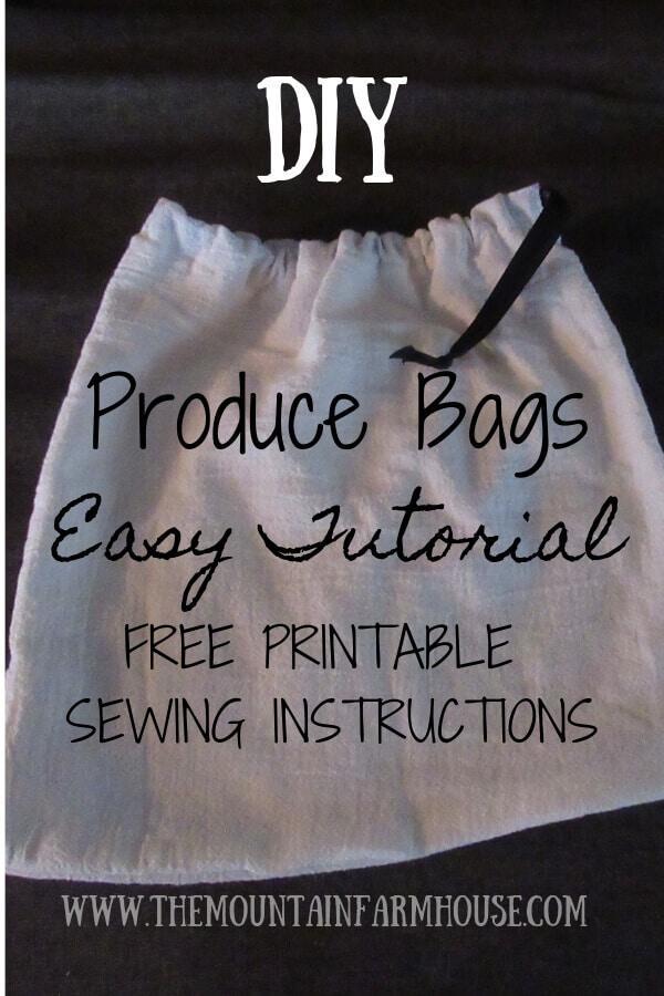 DIY Produce Bags Pinterest 2