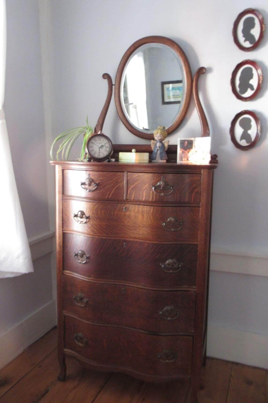 Victorian Highboy dresser